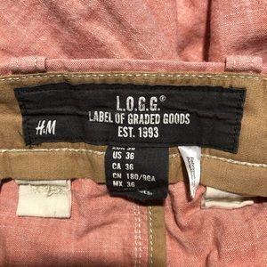 H&M Shorts - Men's H&M lining shorts